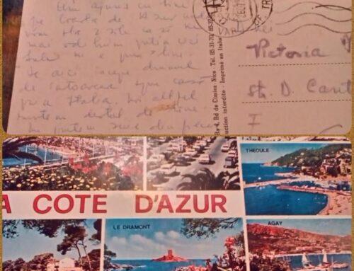 Când ai trimis ultima dată o carte poştală?