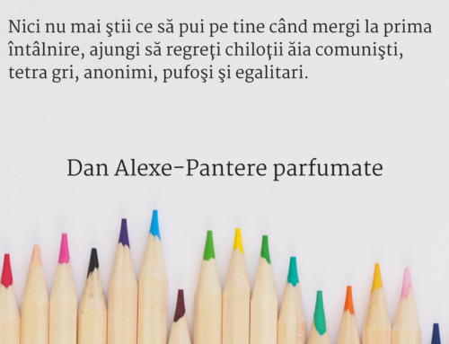 Pantere Parfumate de Dan Alexe-sneak preview