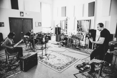 khorada band in studio