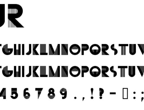 3 fonturi cu istorie și vibe artistic